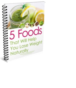 5 natural foods weight loss
